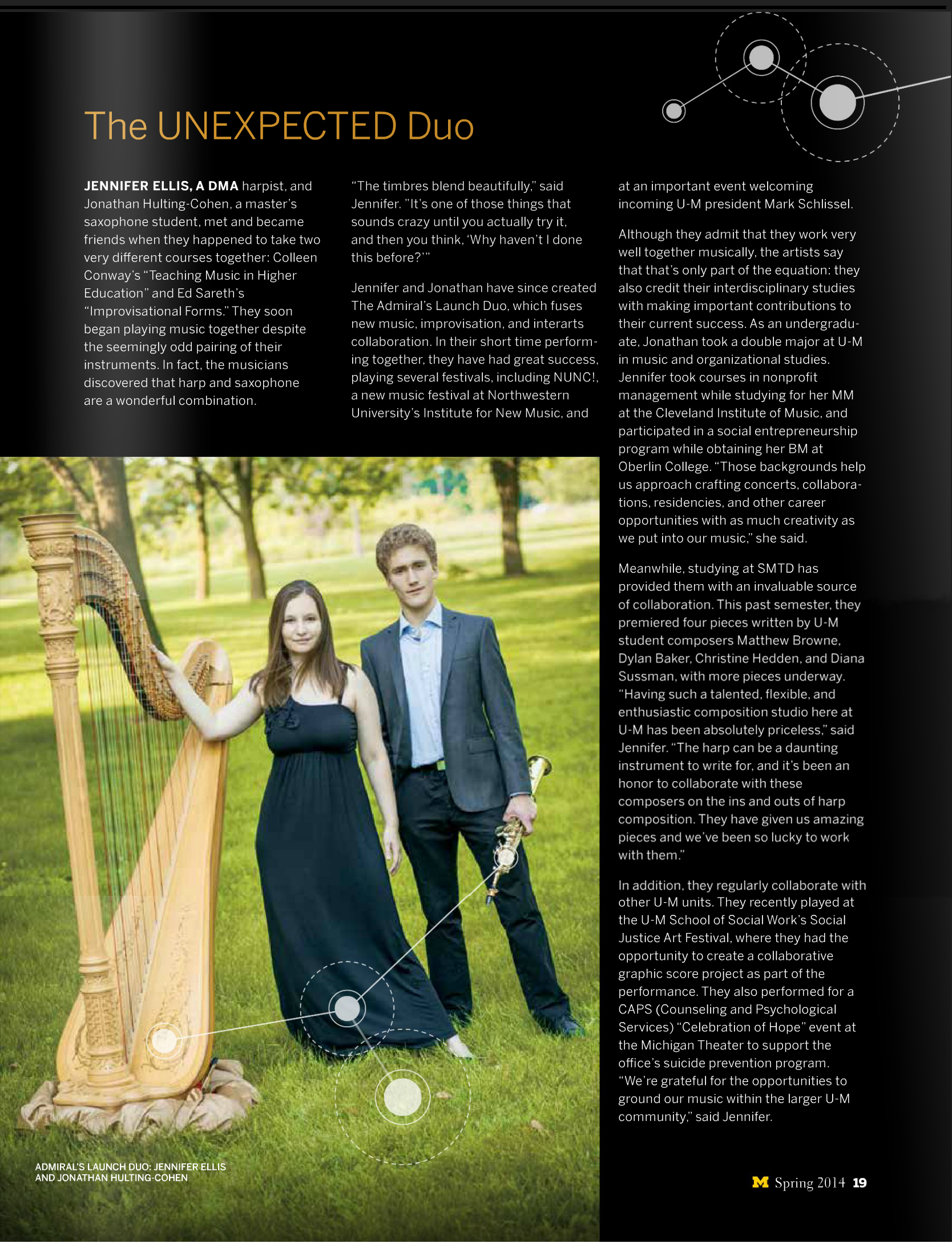 Michigan Muse Summer 2014 Admiral Launch Duo Profile